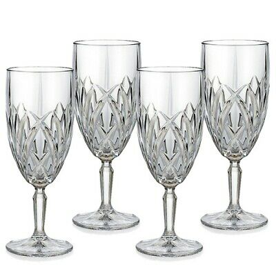 Marquis by Waterford Brookside Iced Beverage Glasses, Set of 4 - New