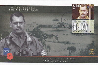 (28408) Gambia FDC D-DAY SIGNED 2004 NO INSERT