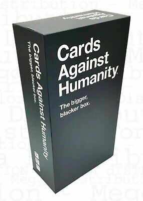 Cards Against Humanity:The Bigger Blacker Box Empty Storage Case - Fast Delivery