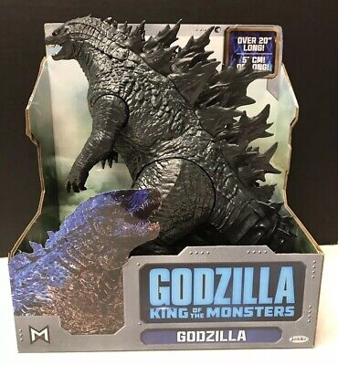 "JAKKS Godzilla King of the Monsters GODZILLA figure 20"" Long NEW IN BOX"