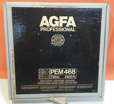 Agfa Professional Recording Tape - Pem 468 - Blank