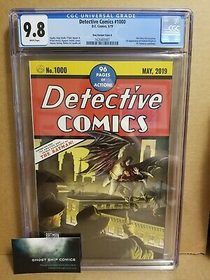 Detective Comics #1000 Cgc 9.8 Alex Ross Trade-Dress #27 Homage Variant In-Hand
