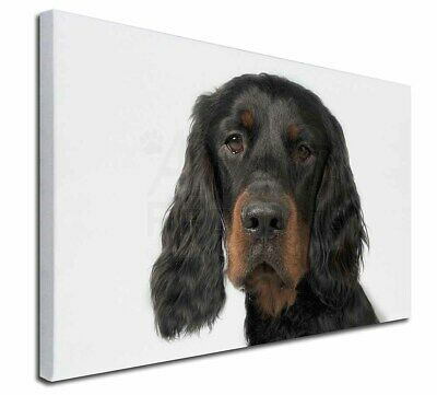 """Gordon Setter 30""""x20"""" Wall Art Canvas, Extra Large Picture Print , AD-GOR3-C3020"""