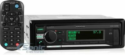 Kenwood eXcelon KDC-X898 Single DIN In-Dash CD/MP3/USB Car Stereo with Bluetooth