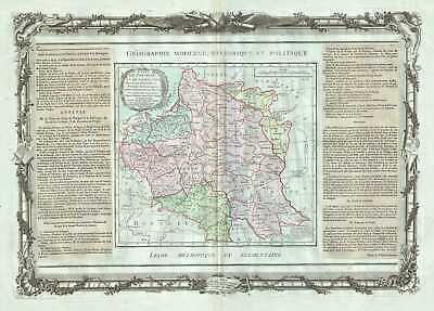 1786 Desnos and de la Tour Map of Poland and Lithuania