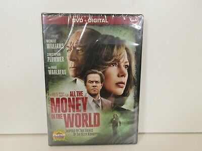 All The Money In The World (DVD, 2018) NEW