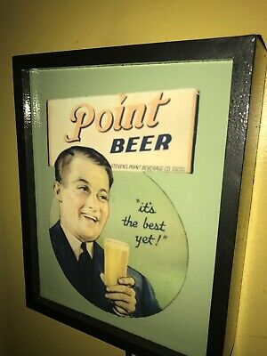 Stevens Point Best Yet Beer Bar Man Cave Lighted Advertising Sign
