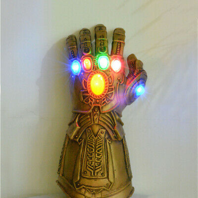 Thanos Infinity Gauntlet LED Light Gloves Cosplay Infinity War Marvel Avengers