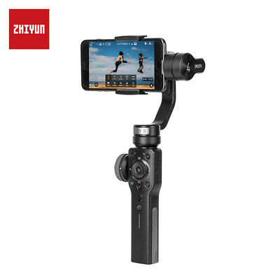 Zhiyun Smooth 4 3-Axis Handheld Gimbal Gopro Stabilizer for Smartphone Black