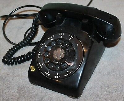 Rare 1958 Western Electric Telephone 532 Hearing Impaired Volume Control Works!