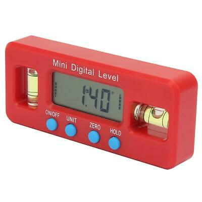 Mini 100mm Inclinometer Angle Meter Digital Protractor Electronic Level Box