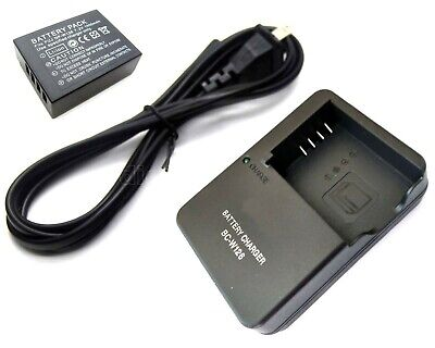 Battery + Charger for Fujifilm X-Pro1 X-Pro2 X-T1 X-T2 X-T3 X-T10 X-T20 X100F
