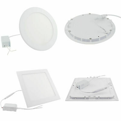 9W 12W 15W 18W 21W Dimmable Epistar Recessed LED Panel Light Ceiling Down Lights