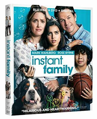 Instant Family [Blu-ray/DVD/Digital Combo, NEW, 2019 Release]  Mark Wahlberg