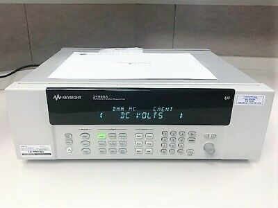 Agilent HP Keysight 34908A Multifunction Switch Measurement Unit Mainframe