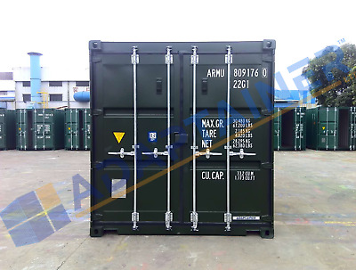NEW 20ft Shipping Containers Birmingham - Ideal for Storage - with FREE light