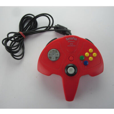 Super Pad Colours Performance Rot - Controller / Game Pad für N64 / Nintendo 64