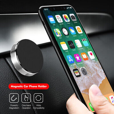 Universal Metal Magnetic in Car Dashboard Mobile Phone Magnet Mount Holder Stand