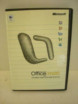 Microsoft Office Mac Student and Teacher 2004 (Retail)  - Full Version for Mac