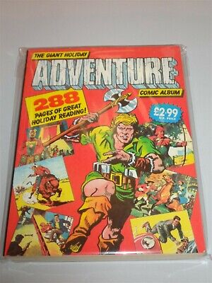 Giant Holiday Adventure Comic Album British Annual Nice Second Hand Copy<