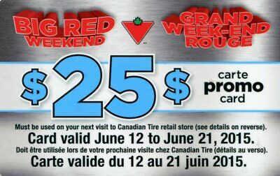 Canadian Tire Promo Card - 4006906