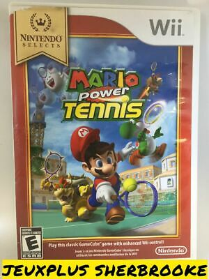 New Play Control! Mario Power Tennis (Nintendo Wii, 2009) (COMPLETE IN BOX)