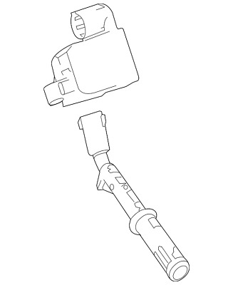 Mercedes Benz Ignition Coil Wiring Connector Plug Pigtail Oem Fast