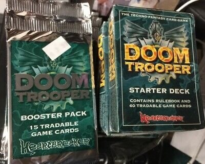 Doom Trooper 36-booster Pack Box For Card Game CCG TCG