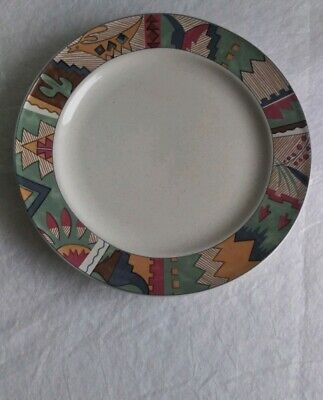 "Studio Nova ""Deer Run"" Salad Plate Beautiful  Mikasa dinnerware Near Mint"