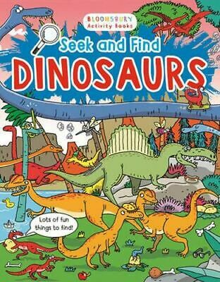 NEW Dinosaurs : Seek And Find By Emiliano Migliardo Paperback Free Shipping