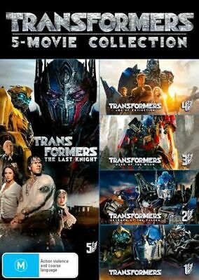 NEW Transformers 5-Movie Collection DVD Free Shipping