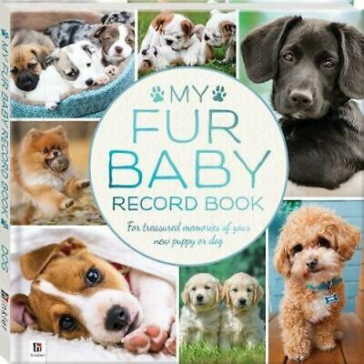 NEW My Fur Baby Record Book  Dog Record Book Free Shipping