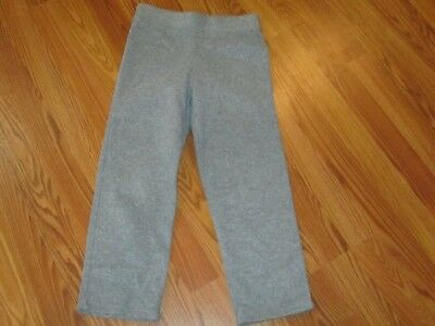Girls Faded Glory Gray Fleece Pants Sz M 7/8 Cute & warm!!