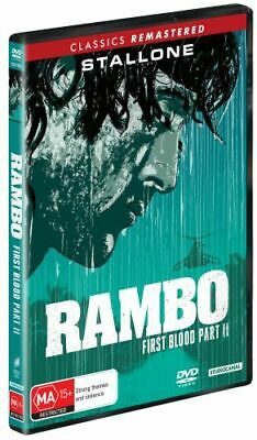 NEW Rambo : First Blood Part II DVD Free Shipping