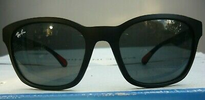Older unisex RayBan sunglasses. Red-tipped arms. Monogrammed in 6 places. VGCdn