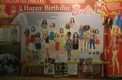 2 german clipping BARBIE DOLL BIRTHDAY RETRO COLLECTION NEW KEN SKIPPER