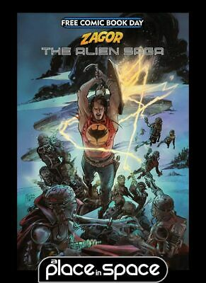 Free Comic Book Day 2019 - Zagor The Alien Saga