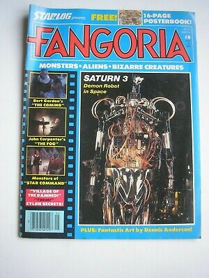 FANGORIA #5 magazine April 1980 with 16 page poster supplement