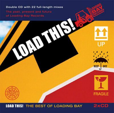5 CDs from Loading Bay Records - unused / NEW Load This! Eurodance Italo Hi-NRG
