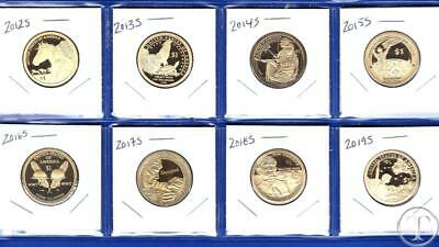 2015 P D S Sacagawea Dollar Proof Native American 3 Coin Set Sealed Mint Cello