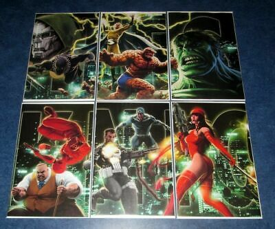 MARVEL KNIGHTS #1 2 3 4 5 6 CONNECTING VARIANT 1st print set DONNY CATES MARVEL