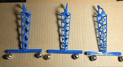 3 Lot | Millet Holders with Bells for Bird Cage | Blue | Old Stock | Never Used