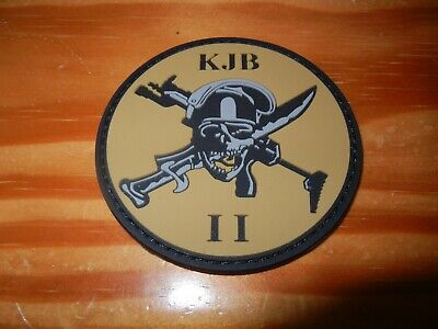 COMMANDOS  MARINE     COMMANDO  JAUBERT    ASSAUT  II      patch sable plastifié