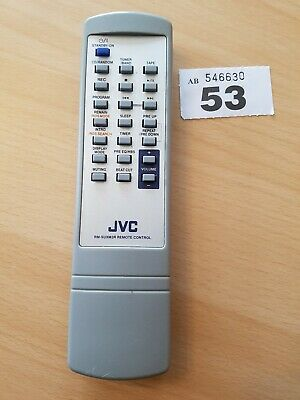 Genuine JVC RM-SUXM3R Micro Component  System Remote For UX-M3R missing back bit