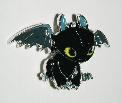 How To Train Your Dragon Movie Toothless Die-Cut Embroidered Jacket Patch New