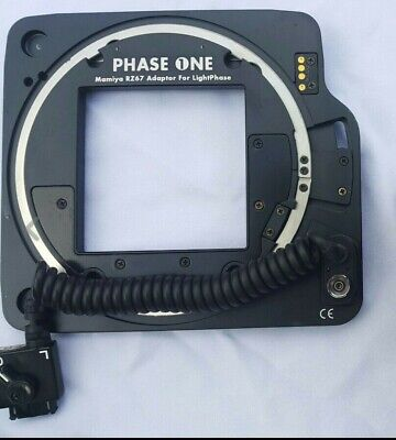 Adaptateur Dos Numerique Phase One Hasselblad  Pour Mamiya Rz67