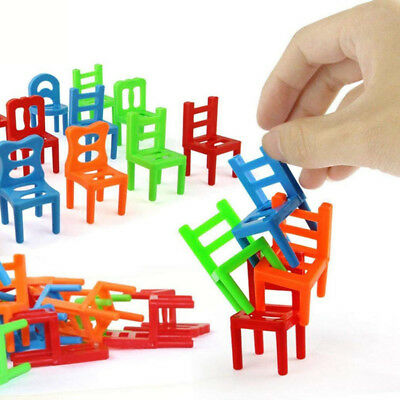 Kids Stools Building Games Children Educational Toys Balance Stacking Chairs LD