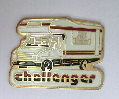 Pin's pin CAMPING CAR CHALLENGER (ref H3)