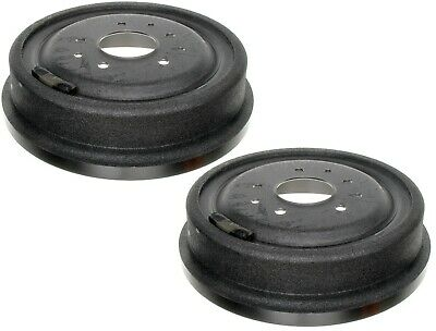 Rear Brake Drum Drums Shoes Pair Set For 00-04 Chevy Tracker 100/% New 3Pc