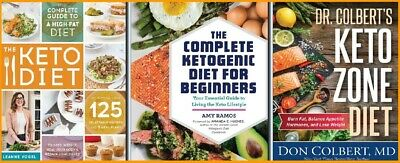 NEW Collection : Top 3 keto books - Health Dieting - [ E- b o o k ]